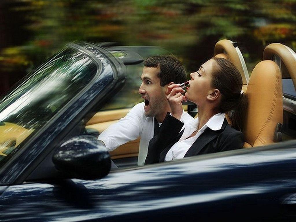 Для, женщина в машине прикольные картинки