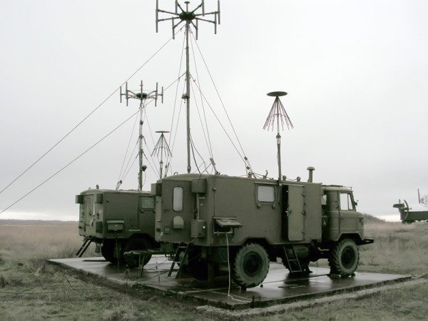 Автоматический радиопеленгатор АРП-11 на базе ГАЗ 66