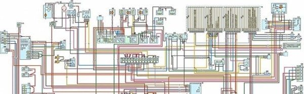 Электрическая схема 2705 с двигателем ЗМЗ-406 применялась и на других моделях. В частности схема 3302 взаимозаменяема с ней на 80%
