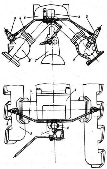 Электрофакельное устройство автомобиля КАМАЗ
