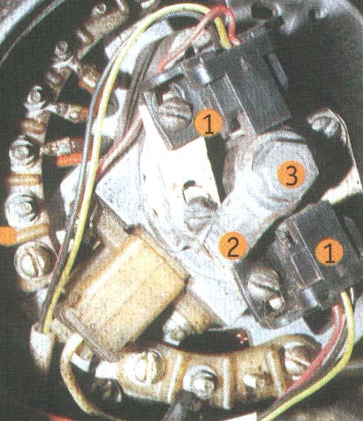Электропроводка ИЖ Юпитер 5 при переделке генератора остается без изменений