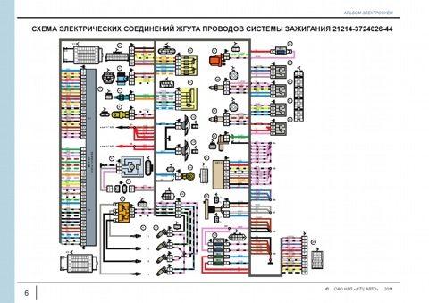 elektroprovodka vaz 2121 - Схема зарядки нива 2121