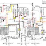Электросхема головной оптики Toyota