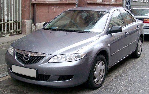 Первое поколение Мазда 6, продававшееся в России в 2003-2007 годах