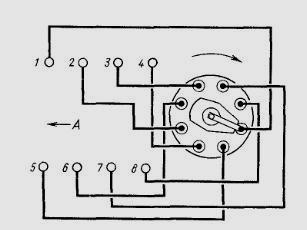 poryadok zazhiganiya svechey - Схема подключения амперметра газ 53