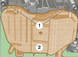 Схема демонтажа крышки фары