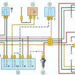 Схема подключения противотуманных фар ВАЗ 118 Калина