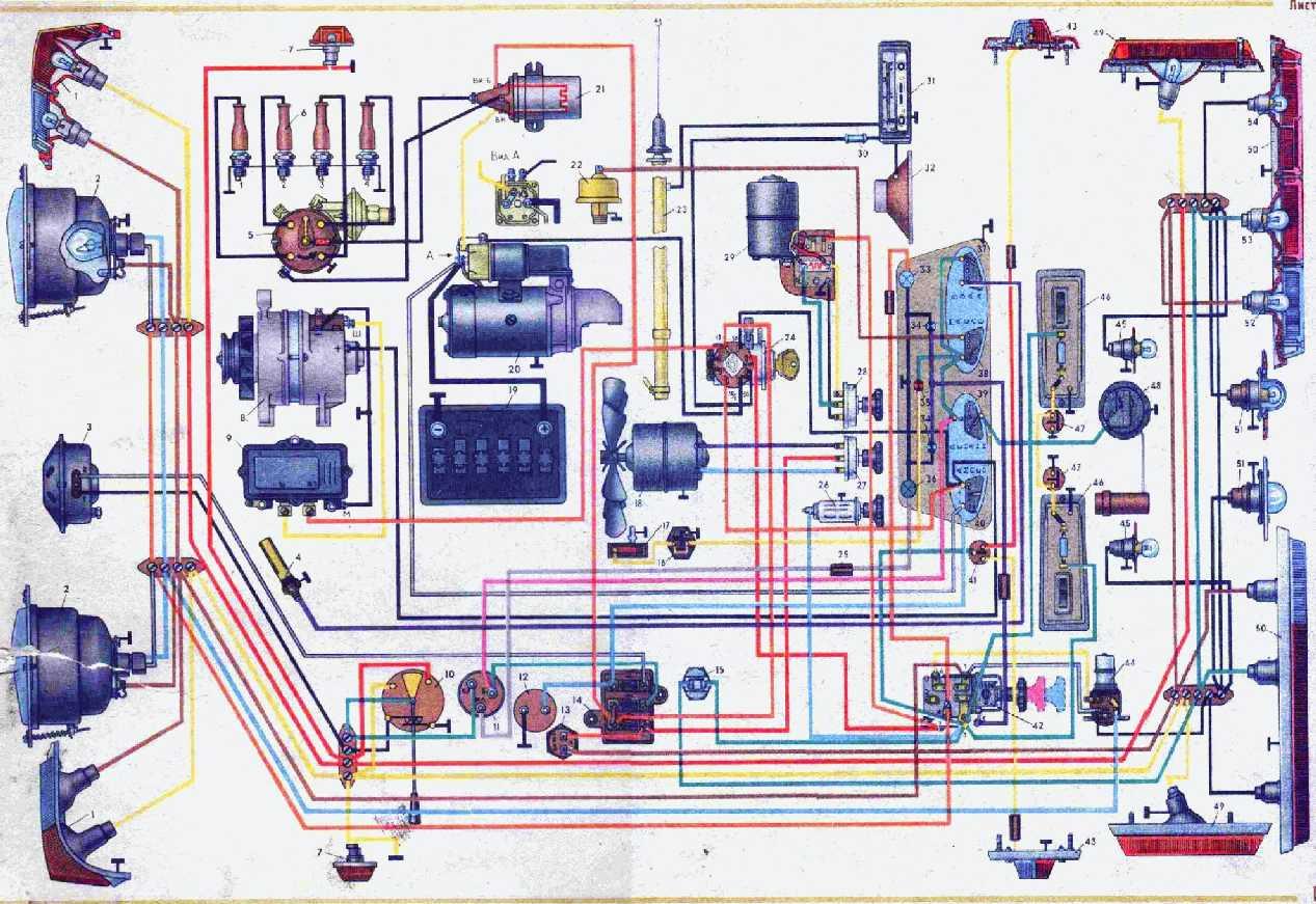 иж м-412 схема электрооборудования