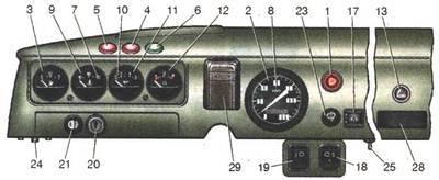 схема проводки уаз 3303