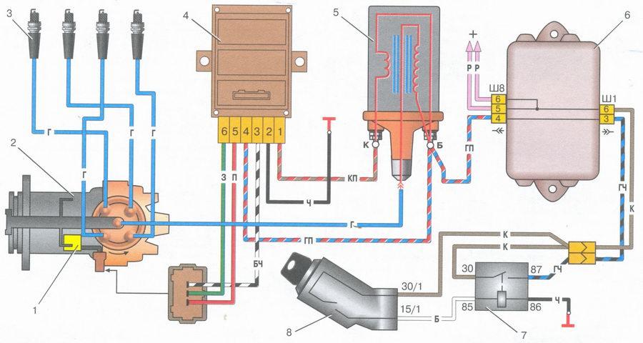 Схема зажигания опель вектра фото 95