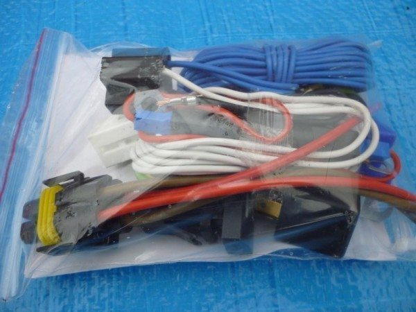 Традиционный комплект проводки для противотуманок