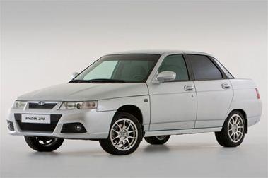ВАЗ 2110 с установленными ПТФ. Такая комплектация является стандартной для автомобилей, собираемых из машинокомплектов на предприятии Bogdan