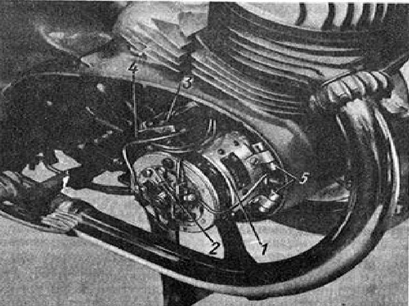 Заводская черно-белая инструкция – основные узлы генератора