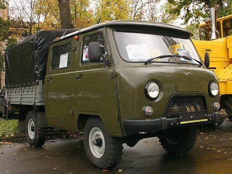 Знаменитые «Полбатона» - фото модели УАЗ 3904