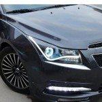 Альтернативная передняя тюнинг-оптика Chevrolet Cruze