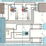 Электрическая схема соединения микропроцессорной системы зажигания для Газель
