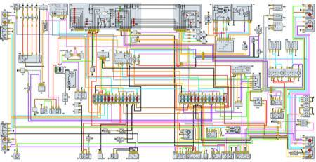 газель 3302 электрическая схема
