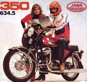 Фирменное фото сети «Спорттовары», продававшей мотоциклы JAWA в СССР