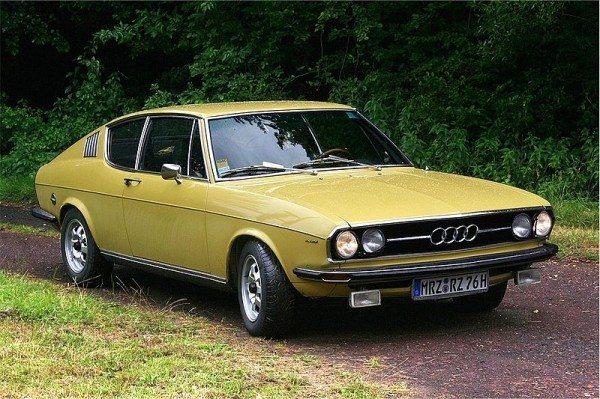 Фото Ауди 100 в кузове «купе» образца 1968 года