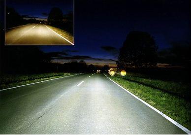 И обычные, и противотуманные должны освещать не только дорогу впереди, но и правую обочину