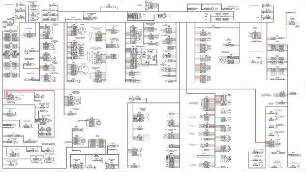 Общая схема электропроводки КАМАЗ семейства 5320 и его модификаций