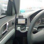Общий вид навигатора в машине