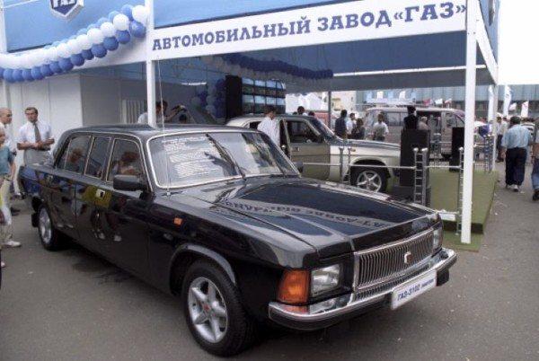 Одна из последних модификаций образца 1997 года на автовыставке