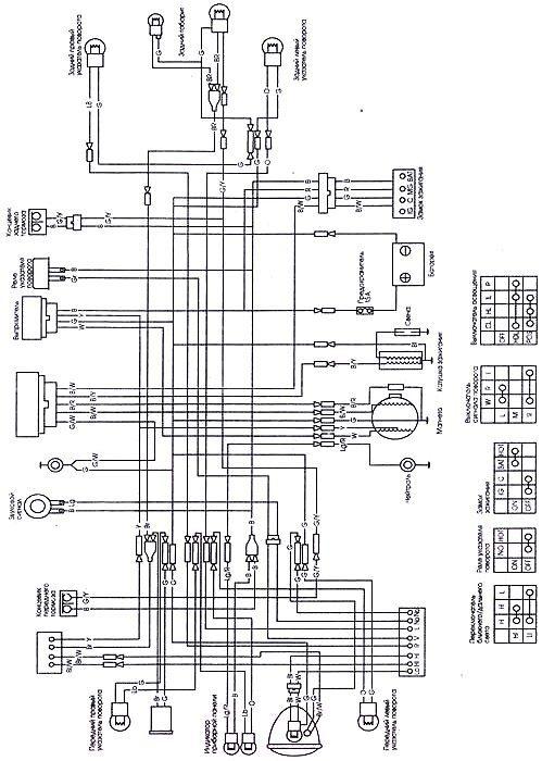 мопед альфа 110куб схема
