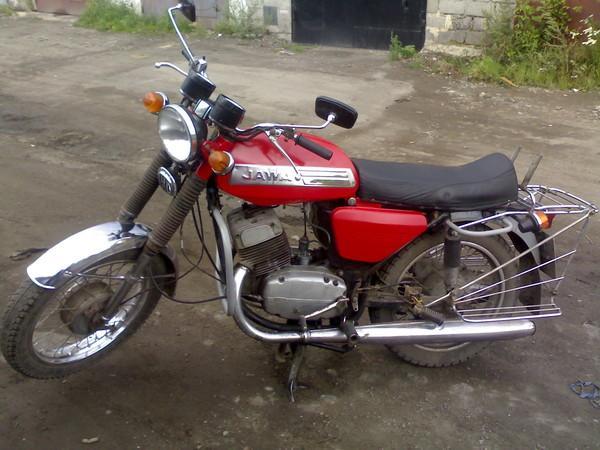 Оригинальное фото мотоцикла JAWA модели 634