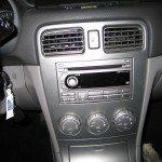 Пример установки аудиосистемы в Subaru Forester
