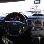 Пример установки навигатора в машине