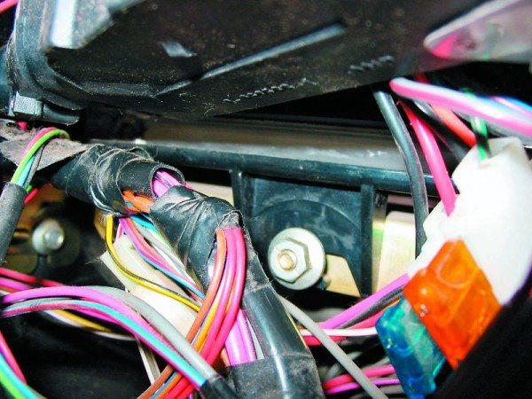 проводка ваз 2110 на инжектор
