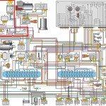 Схема электропроводки ГАЗ 3110