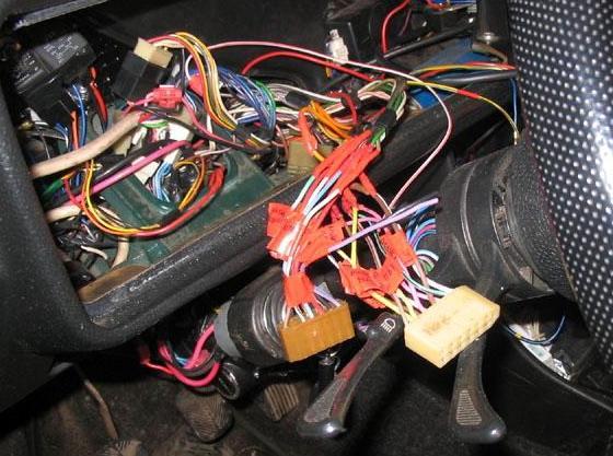 Схема электропроводки ВАЗ 2113