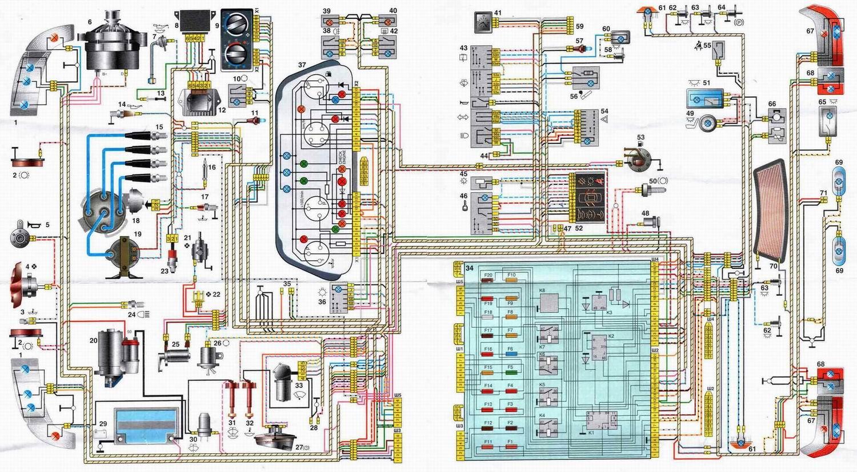 Схема вентилятора охлаждения ваз 2110 инжектор