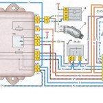Схема работы сигналов поворотов Лада Самара