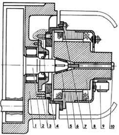Схема устройства видоизмененного генератора