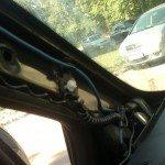 Скрытая проводка для навигатора и видеорегистратора