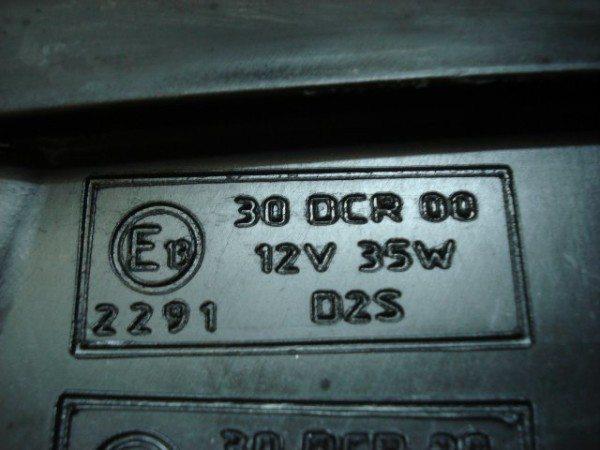 Только при наличии соответствующей маркировки можно использовать ксенон для ближнего и дальнего света