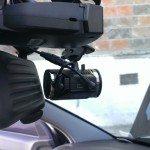 Установка радар-детектора и видеорегистратора за зеркалом автомобиля